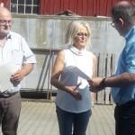 35 Jahre Innungsmitgliedschaft  Haustechnik Graf