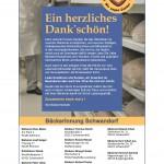 Bäckerinnung Schwandorf – ein herzliches Dank'schön!