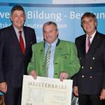 Erasmus Söllner wurde mit dem Goldenen Meisterbrief geehrt