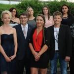 Freisprechungsfeier für die Schwandorfer Gesellen- und Abschlussprüflinge im Bäckerhandwerk am 27.07.2016 in Oberleinsiedl
