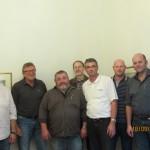Innungsversammlung der Metzger- und Bäckerinnung Schwandorf im Rahmen einer Weber-Grillschulung