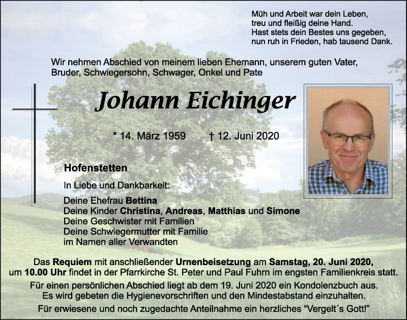 Johann-Eichinger-Traueranzeige-295a88c3-6985-4d7f-9858-bd8812e13979